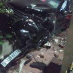જામનગર માં બેફિકર દોડતી કારે સાત રસ્તાની રોનક બગાડી નાખી-ફોજદારી થઇ