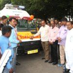 જામનગરને દસ 108 એમ્બ્યુલન્સની ફાળવણી