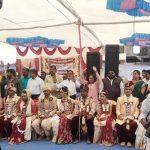 શ્રી રામધુન સંતવાણી મંડળ દ્વારા રાજકોટ ખાતે સમૂહ લગ્ન યોજાયો