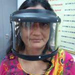 રાજકોટ શહેર એનેસ્થિસિયા ડોક્ટરોના અસોસિએશન દ્વારા ૨૫ ફેશશિલ્ડ સિવિલ હોસ્પિટલને અર્પણ
