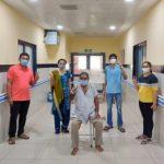 રાજકોટ શહેર સિવિલ હોસ્પિટલ ખાતે કોરોના પોઝિટિવ દર્દીઓને ટોસિલીઝુમેબ ઇન્જેક્શન સફળ રાજકોટ સિવિલ હોસ્પિટલમાં જણાયું છે
