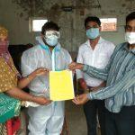 તાલુકાના લીંબુડા ગામે હડિયાણા પ્રા. આ.કેન્દ્ર ની ટીમ ડોક્ટરોની ટીમ ટેસ્ટ માટે લીંબુડા ખાતે આવી