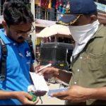 નગરપાલિકા અને થરાદ પોલીસ દ્વારા માસ્ક અભિયાન ચલાવવામાં આવ્યું