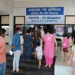 ગીર સોમનાથ જિલ્લામાં ૫ કોવિડ હોસ્પિટલ કાર્યરત, ૬૦ બેડની કોવિડ કેર સેન્ટર સોમનાથ ખાતે કાર્યરત