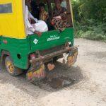 મીઠા થી રાજસ્થાન ને જોડતો હાઇવે બિસ્માર વાહન ચાલકો પરેશાન